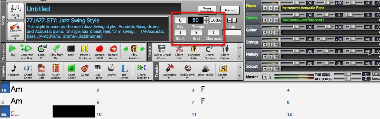 01 program the chords