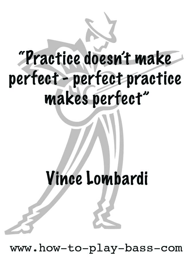 Practice Quotes 60 Practice Doesn't Make Perfect How To Play Bass Inspiration Make A Quote